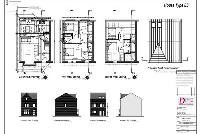 Thumbnail Semi-detached house for sale in Plot 6, 237 Westminster Road, Birmingham