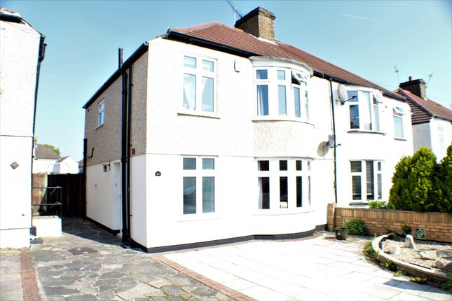 Thumbnail Semi-detached house for sale in Exeter Road, Welling