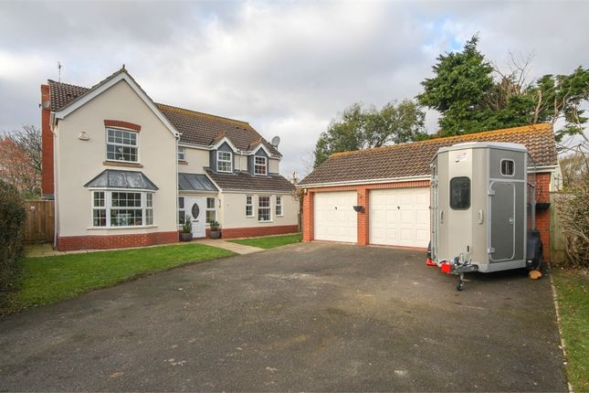 Thumbnail Detached house for sale in 10 Manor Close, Berrow, Somerset