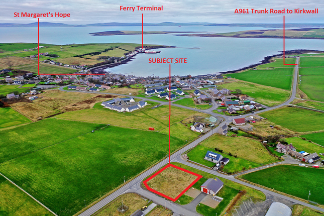 Thumbnail Land for sale in St. Margarets Hope, Orkney