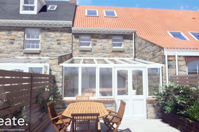 Thumbnail Terraced house for sale in 5 Merriman Court, Le Foulon, St Peter Port