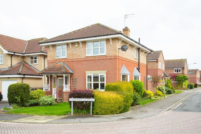 Thumbnail Detached house for sale in Chapman Close, Strensall, York