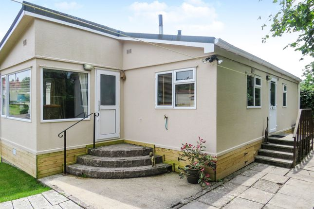 Thumbnail Mobile/park home for sale in Homestead Park, Wookey Hole, Wells