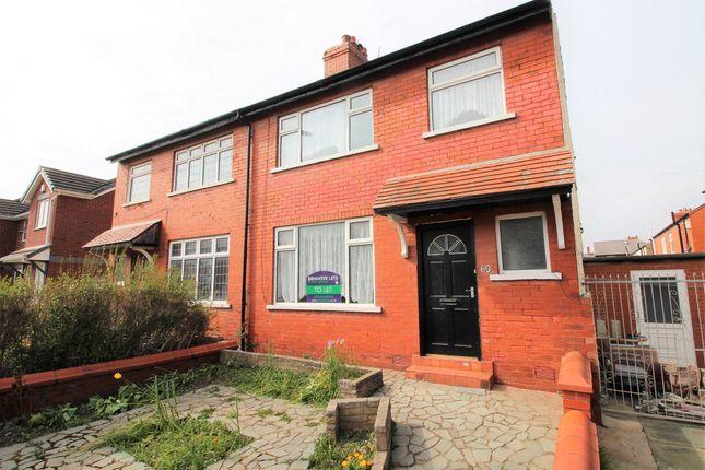 Thumbnail Semi-detached house to rent in Ashburton Road, Blackpool, Lancashire
