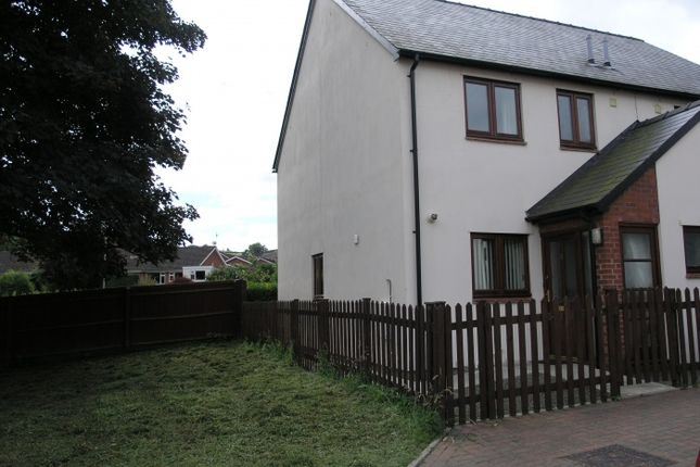 Thumbnail Semi-detached house to rent in Noble Court, Knighton