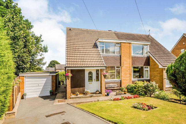 Thumbnail Semi-detached house for sale in Highcliffe Avenue, Cowcliffe, Huddersfield, West Yorkshire
