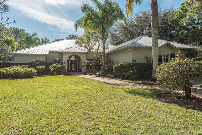 Thumbnail Property for sale in 194 Mahogany Dr, Naples, Fl, 34108