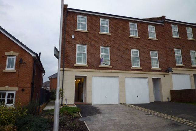 Thumbnail Town house to rent in Cavaghan Gardens, London Road, Carlisle