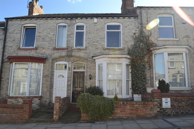 Thumbnail Terraced house to rent in Nunmill Street, York