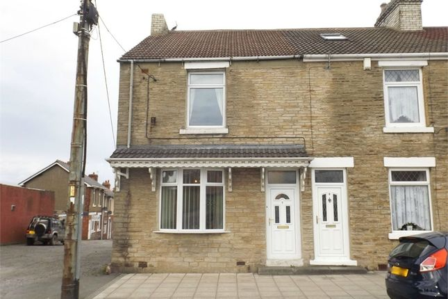Thumbnail End terrace house for sale in Church Street, Coundon, Bishop Auckland, Durham