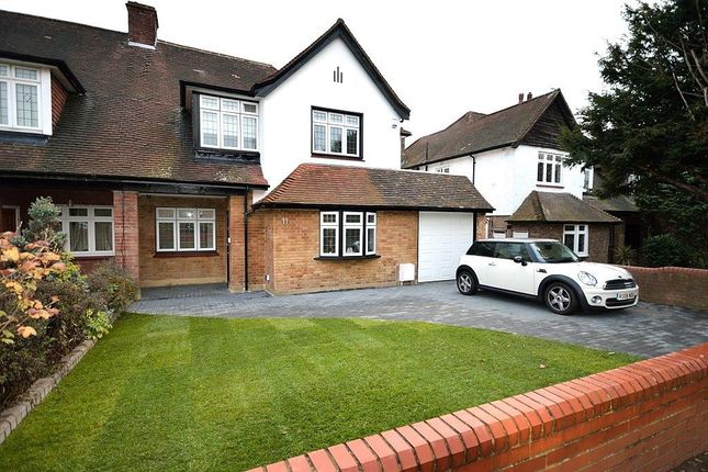 Thumbnail Semi-detached house for sale in Bourne Avenue, Southgate