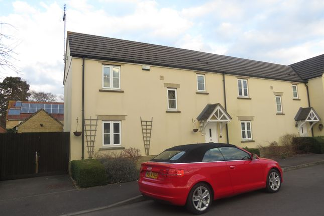 Thumbnail End terrace house for sale in Severn Close, Calne