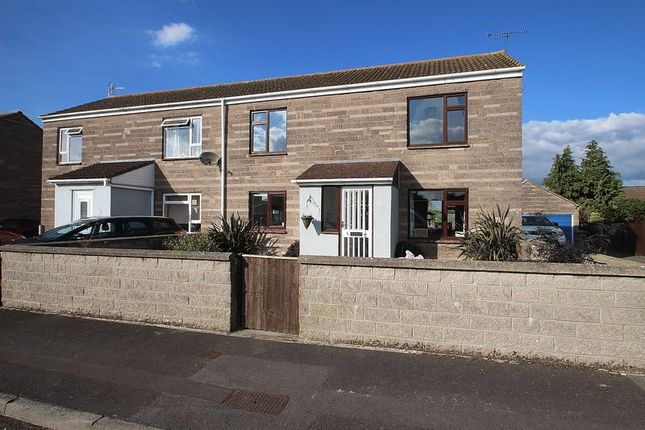 Thumbnail Semi-detached house for sale in Moor View Close, Meare, Glastonbury