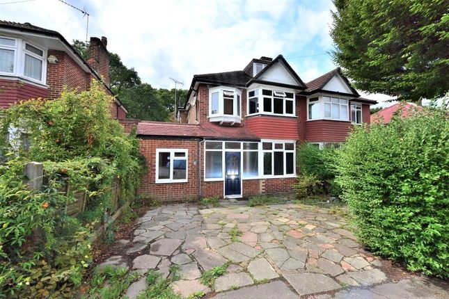 Thumbnail Semi-detached house for sale in Woodland Rise, Greenford