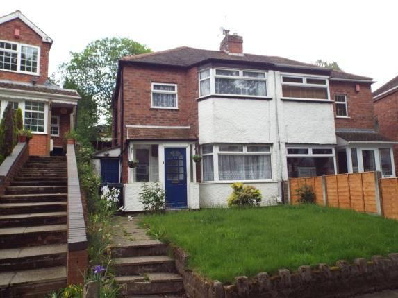 Thumbnail Semi-detached house for sale in Courtenay Road, Kingstanding, Birmingham, West Midlands