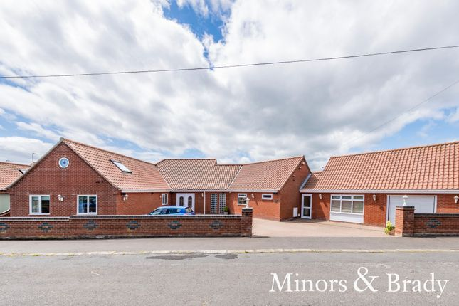 Thumbnail Detached bungalow for sale in Old Coast Road, Ormesby, Great Yarmouth