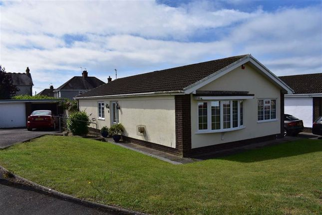 Thumbnail Detached bungalow for sale in Withy Park, Bishopston, Swansea
