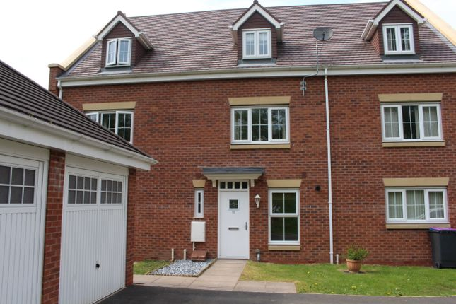 Thumbnail 3 bed town house to rent in Highlander Drive, Telford