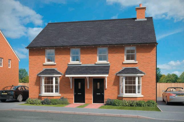 "Thumbnail Semi-detached house for sale in ""Archford"" at Nine Days Lane, Redditch"
