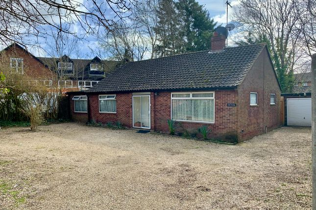 Thumbnail Detached bungalow for sale in Old Redbridge Road, Redbridge, Southampton