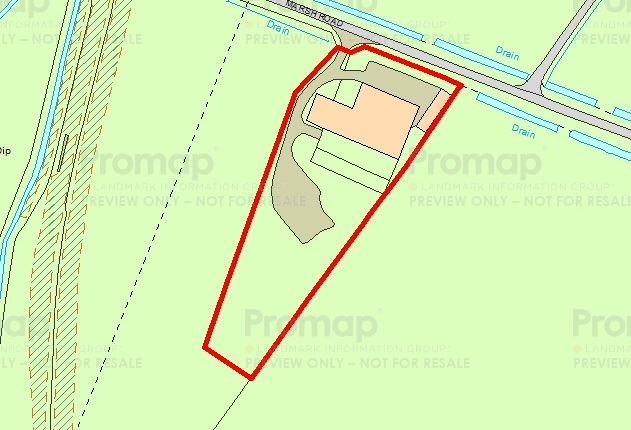 Thumbnail Land for sale in Off Bucklegate Lane, Fosdyke