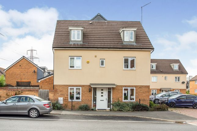 Thumbnail Semi-detached house for sale in Dunnock Drive, Leighton Buzzard