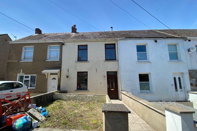 Thumbnail Terraced house for sale in Furnace Terrace, Pontyberem, Llanelli