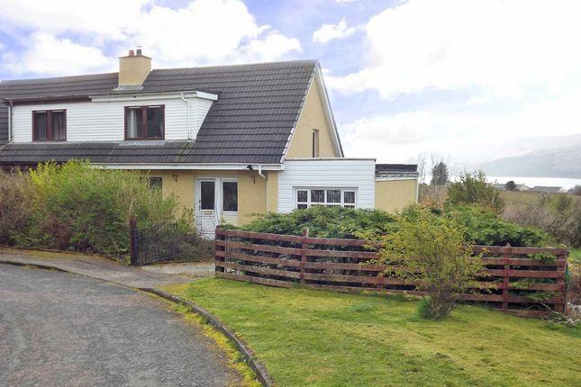 Thumbnail Semi-detached house for sale in Kirk Brae, Lochaline