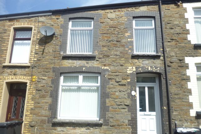 Thumbnail Terraced house to rent in Station Terrace, Merthyr Tydfil