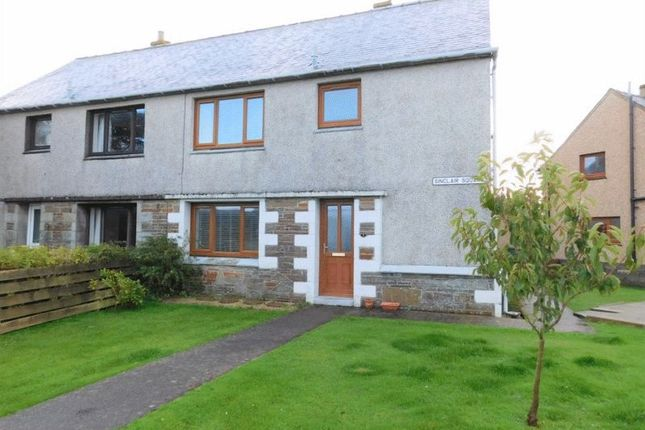 Thumbnail Semi-detached house for sale in Sinclair Square, Halkirk