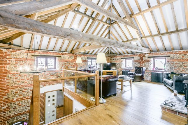 Thumbnail Barn conversion for sale in Warren Road, High Kelling, Holt