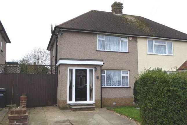 3 bed semi-detached house for sale in Montacute Road, New Addington, Croydon
