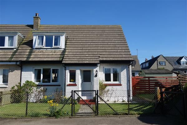 Thumbnail End terrace house for sale in Bayview, Machrihanish, Machrihanish