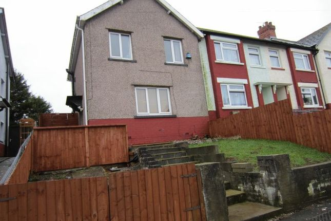 Thumbnail End terrace house for sale in Marcross Road, Cardiff