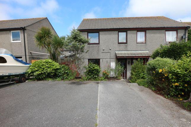 Thumbnail Semi-detached house for sale in Pengegon Way, Pengegon, Camborne