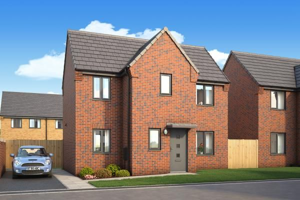 "Thumbnail Property for sale in ""The Warwick At Kingfields Park"" at Kesteven Way, Kingswood, Hull"