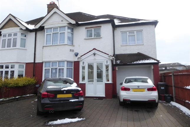Thumbnail Semi-detached house to rent in Great South West Road, Hounslow
