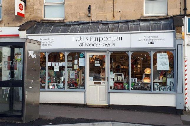 Thumbnail Retail premises for sale in Chippenham, Wiltshire