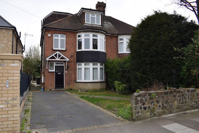 Thumbnail Semi-detached house to rent in Drapers Road, Enfield