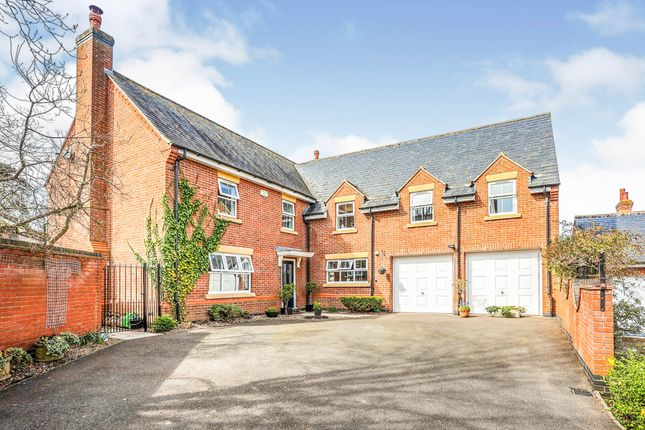 Thumbnail Detached house for sale in Orton Close, Rearsby, Leicester