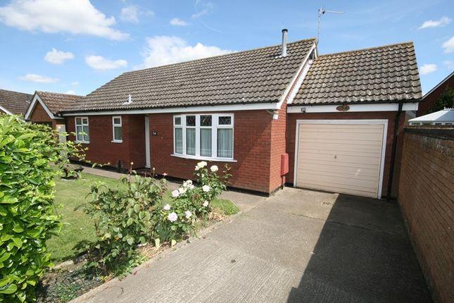 Thumbnail Detached bungalow for sale in Chapel Road, Attleborough