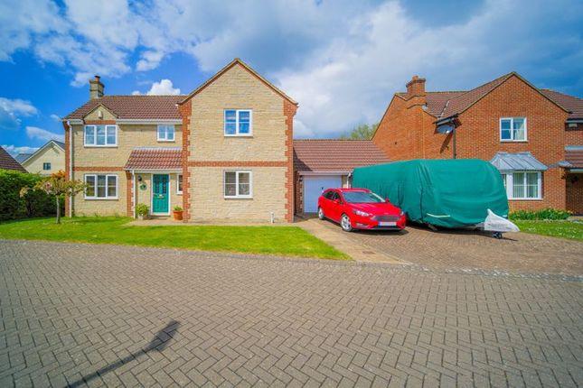 Thumbnail Detached house for sale in The Laurels, Beanacre, Melksham