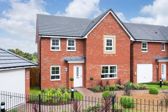 "Thumbnail Detached house for sale in ""Radleigh"" at Newton Abbot Way, Bourne"