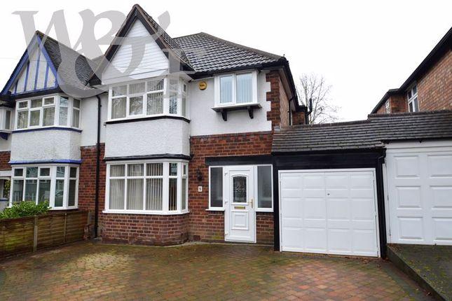 Thumbnail Semi-detached house for sale in Dare Road, Erdington, Birmngham