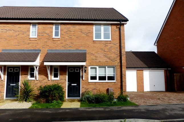 Thumbnail Semi-detached house to rent in Navigation Drive, Yapton, Arundel