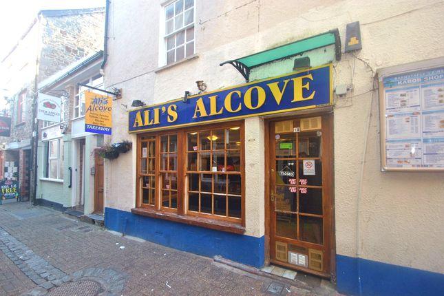 Thumbnail Restaurant/cafe for sale in 18 Maiden Street, Barnstaple