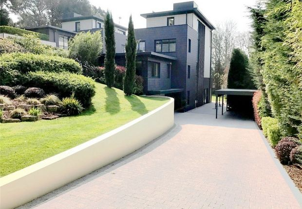 Thumbnail Detached house for sale in Mount Grace Drive, Evening Hill, Poole, Dorset
