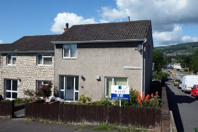 Thumbnail End terrace house for sale in Kenilworth Place, Cwmbran, Torfaen.