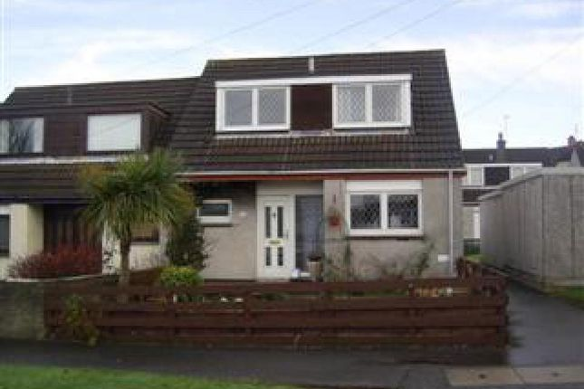 Thumbnail End terrace house to rent in Castlehill, Bo'ness, Falkirk