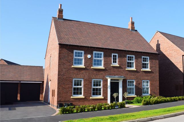 "Thumbnail Detached house for sale in ""Chelworth"" at Main Road, Earls Barton, Northampton"